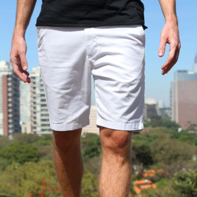 Shorts mint deu branco