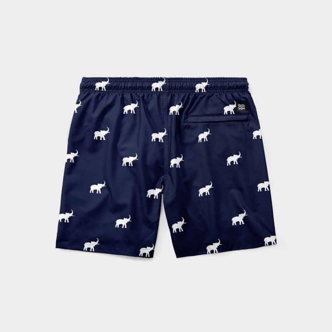 Shorts mint elefantes