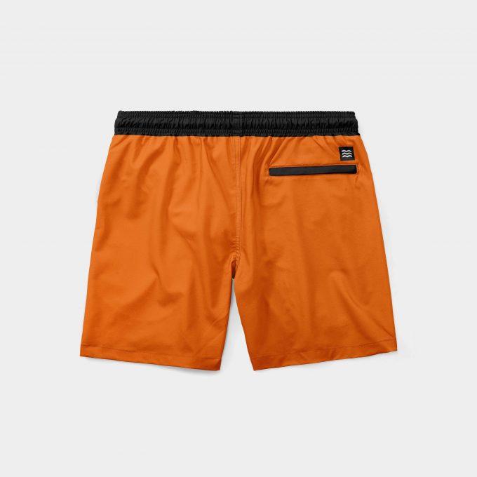 Shorts mint laranja mecânica