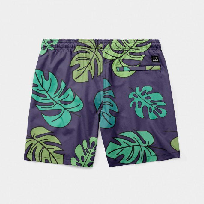 Shorts mint leaf