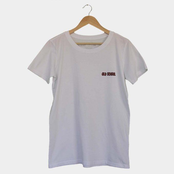 Camiseta mint old school