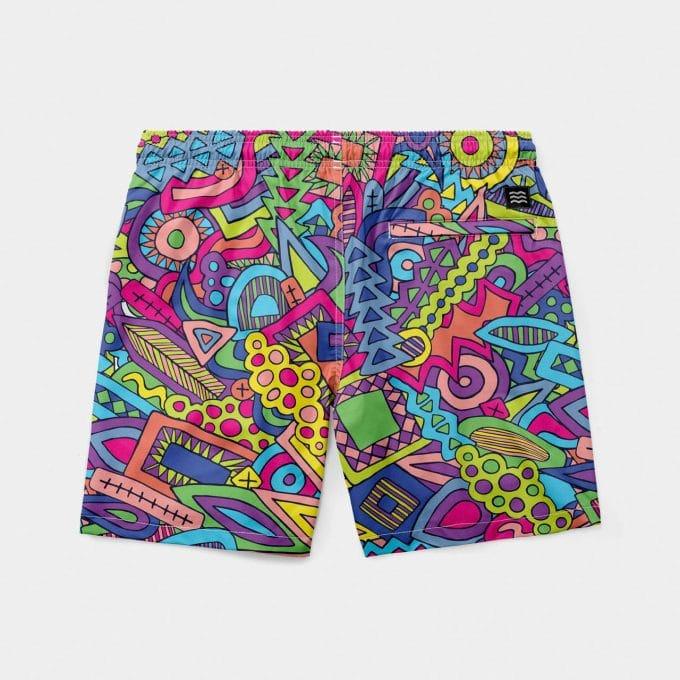 Shorts mint psycho swimmer