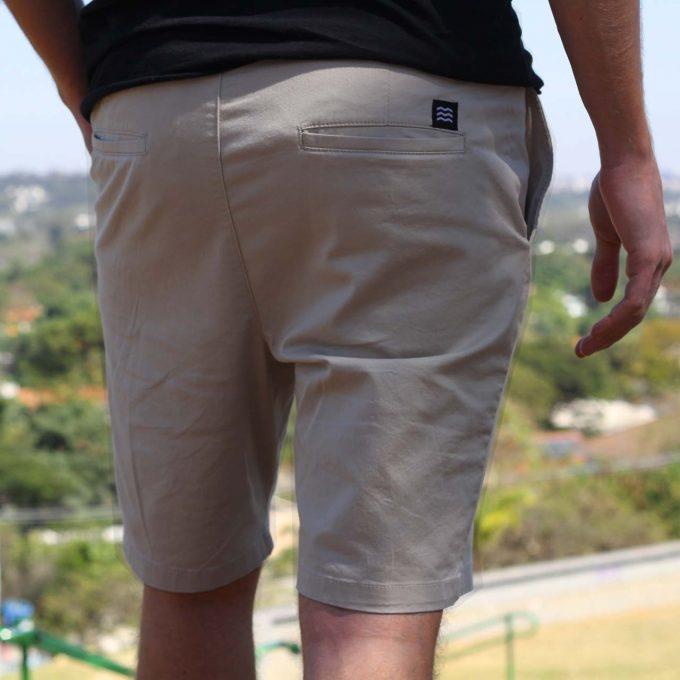 Shorts mint sarja de verão