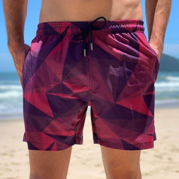 Shorts mint triangulo das bermudas